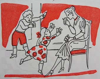 Andy Warhol 19 Illustrations in Children's Book, Art 1959  and Story by Alfred Sheinwold.