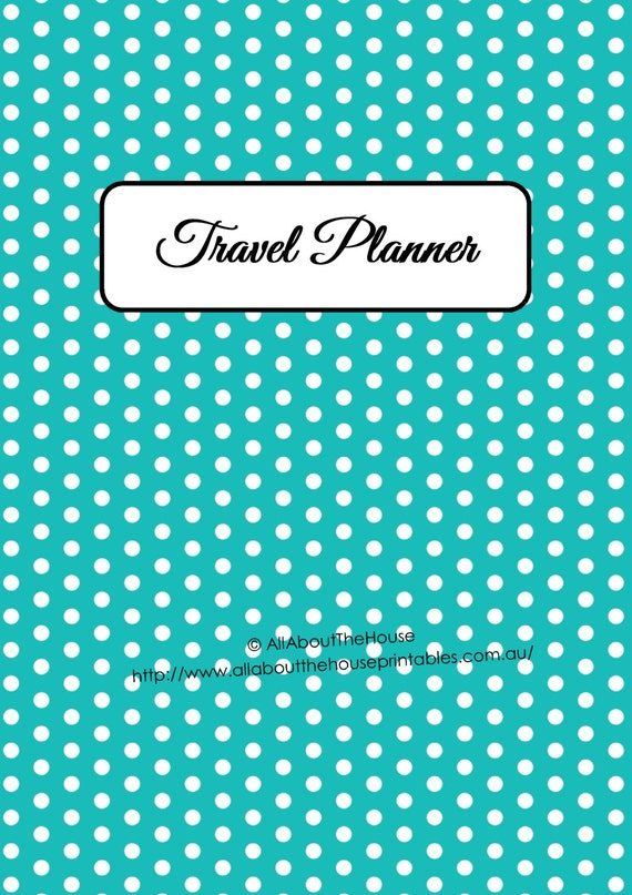 Travel Planning Kit – EDITABLE | AllAboutTheHouse Printables