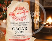 Personalised heirloom santa sack / personalised Christmas sack