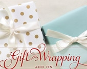 Gift Wrap ADD ON for any stationery order
