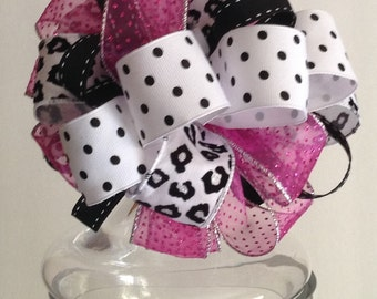 Valentine's Gift Bow - Whimsical Gift Bows - Gift Topper - Bow -