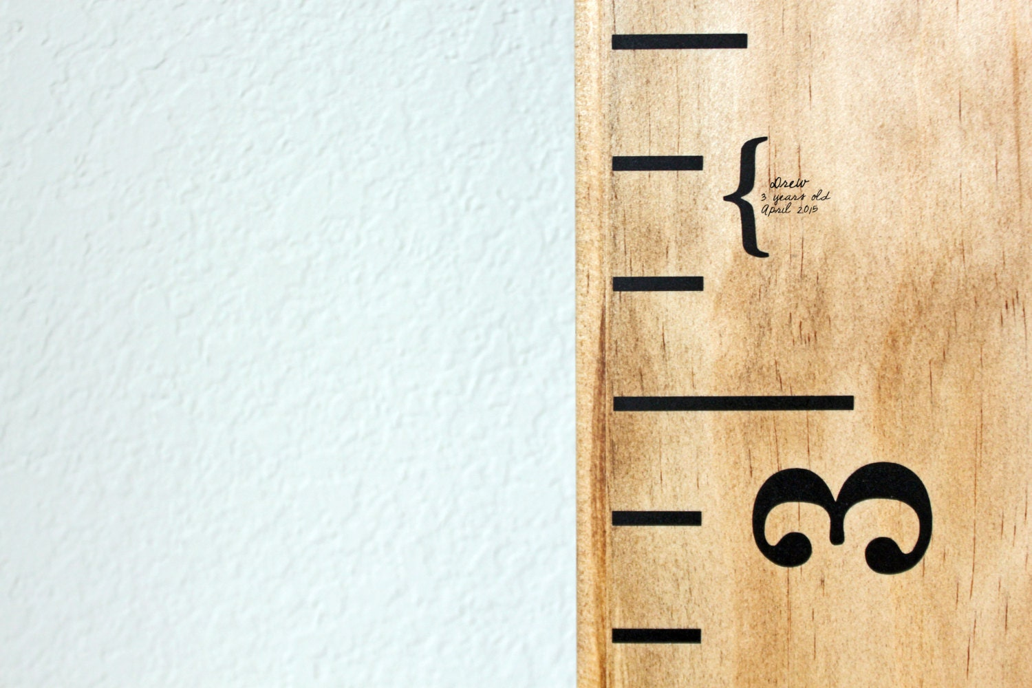 Height Markers For Growth Chart Ruler Vinyl Decal Mini - Ruler growth chart vinyl decal