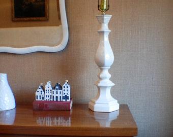 SALE! Vintage Tall Balustrade Lamp