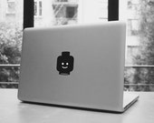 """Lego head macbook pro and air stickers decal for 13,15,17"""""""