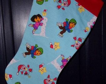 Dora  Christmas Stocking