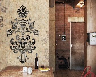 Custom wall stencils Design