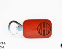 Etched Bottle Opener - Personalized Bottle Opener - Custom Wood Bottle Opener - Stocking Stuffer, Bridesmaid Gift, Gift for Her - GFT-107