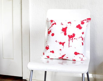 Death By Pillow Fight Cushion