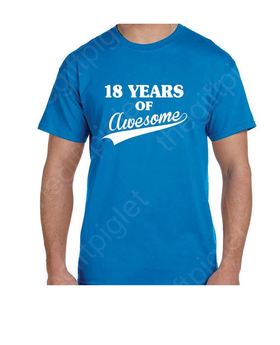 18th Birthday Gifts Funny 18th Birthday Shirt 18th Birthday
