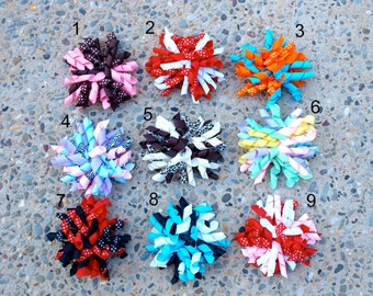 Korker Hair Bow Clips