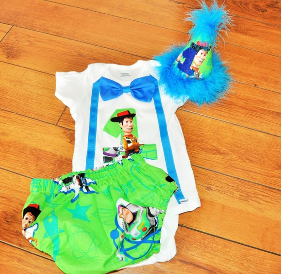 Toys For A 1st Birthday : Toy story cake smash outfit with party hat woody by rylowear