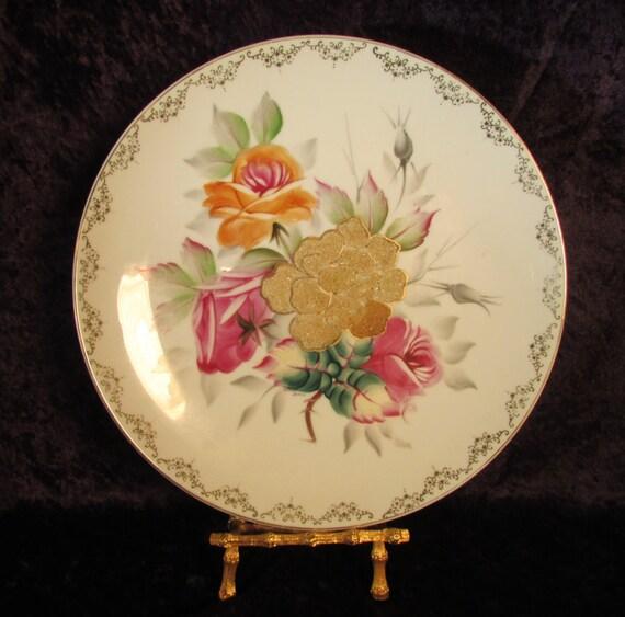 decorative plate vintage display plate wall hanging plate. Black Bedroom Furniture Sets. Home Design Ideas