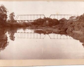 Antique Photo of Bridge