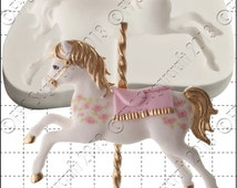 Carousel Horse mould (mold) - 'Carousel Horse' silicone mold by FPC Sugarcraft | resin mold, fimo mold, clay mold, soapmaking mold C181