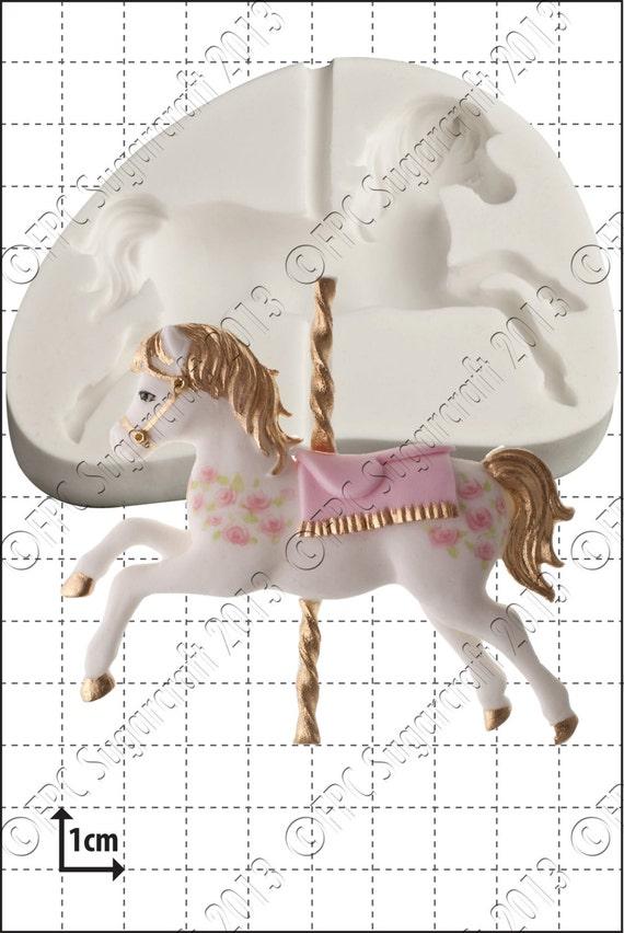 Carousel Horse Mould Mold Carousel Horse