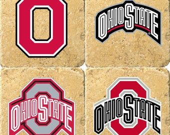 Custom Ohio State Coasters - You pick which logos!