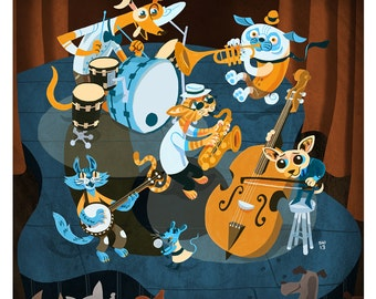 Limited Edition Dog and Cat Band- 8x10