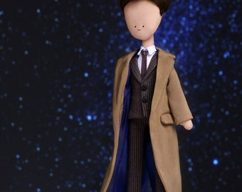 Tenth Doctor - handmade doll from Doctor Who