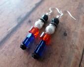 Holiday Nutcracker Drop Earrings