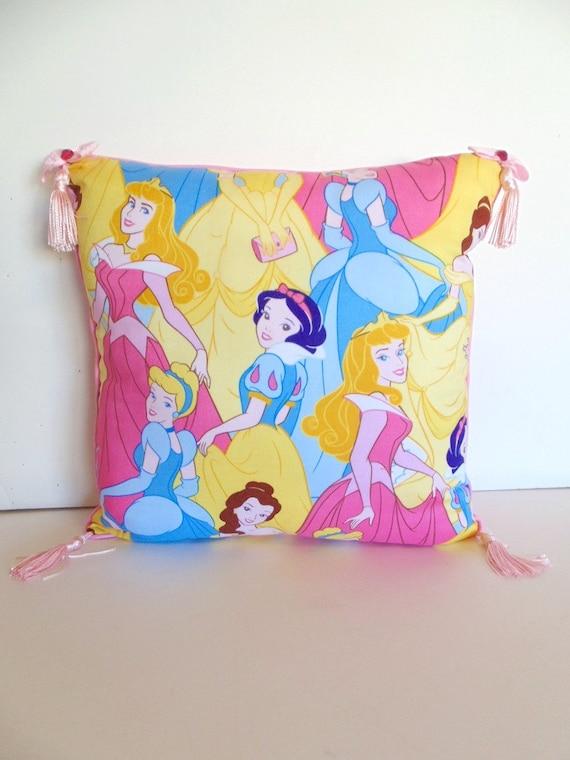 Decorative Princess Pillows : Disney Princess Pillow Snow White and by PillowsEtceteraDecor