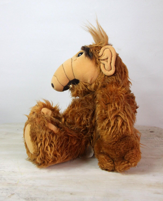 ALF Talking Stuffed Toy Wisecracking ALF Vintage 1980