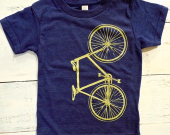 Cool Bike toddler shirt. Bicycle American Apparel T-shirt.