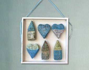 Wall Decoration Hearts & Houses