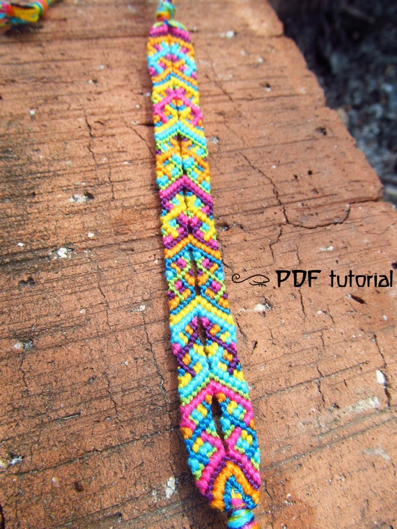 Items similar to Friendship Bracelet Pattern, Friendship ...