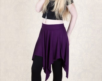 Pixie Style Short Skirt