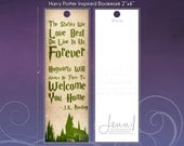 The Stories We Love Best Quote  - Harry Potter Inspired bookmark, 2x6
