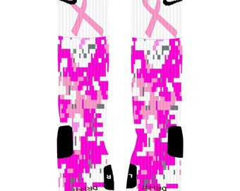 Popular items for unique nike elitesNike Elite Socks Camo Pink