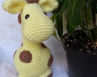 Amigurumi Giraffe Toy  / Crochet Stuffed Giraffe