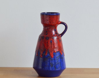 Dümler & Breiden vase 303-25 West Germany fat lava