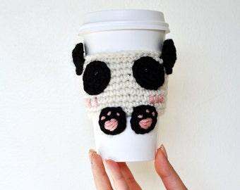 Panda Cup Cozy / Sleeve