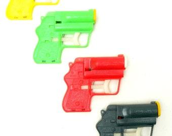 Original Vintage 60's Toy Target Gun - Launches plastic pellets, great for kids or as a prop derringer!