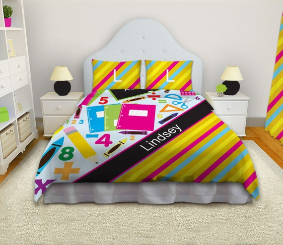 Items similar to Unique Bright Colored bedding sets