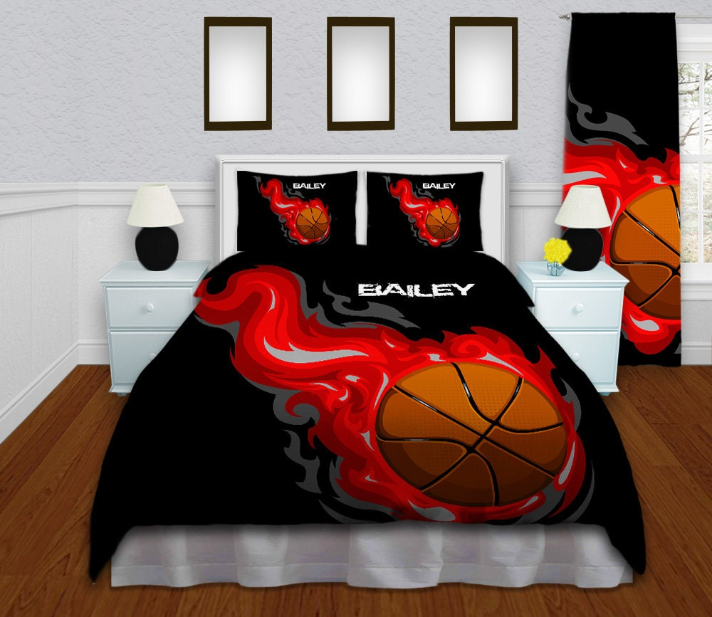 Basketball Bedding For Boys Or Girls Boys Bedding Set Twin