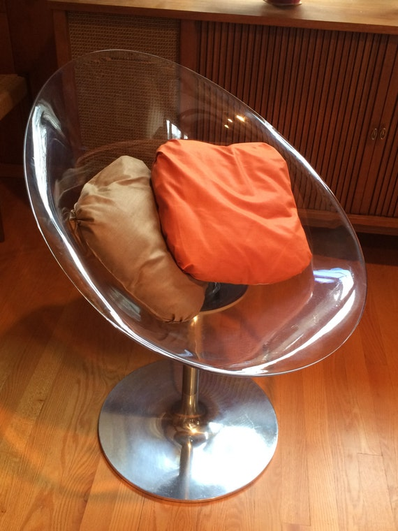 Eros Chair Lucite Chair Kartell Philippe Starck