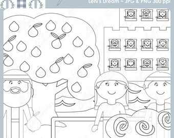 abinadi coloring page - brother of jared digital clipart