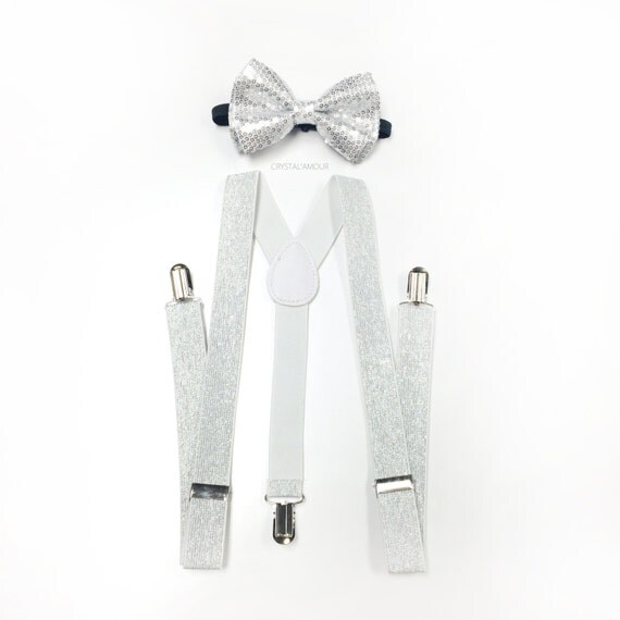 The Tie Bar has a large selection of men's silver suspenders at a great value. Find great deals on stylish clip style and loop style suspenders.