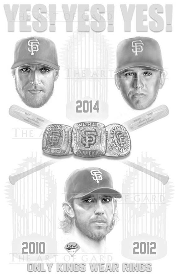 SF Giants Trifecta Poster