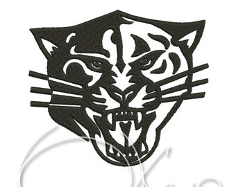 MACHINE EMBROIDERY DESIGN - Panther 1