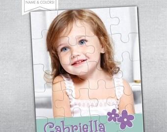 Personalized puzzle. Photo Puzzle.