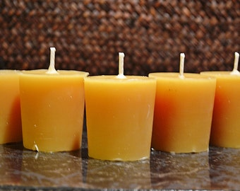 Beeswax Votives: Standard Size