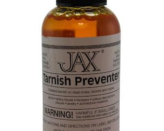 Jax Tarnish Preventer for Copper, Brass & Bronze 2oz Bottle  (PM9012)