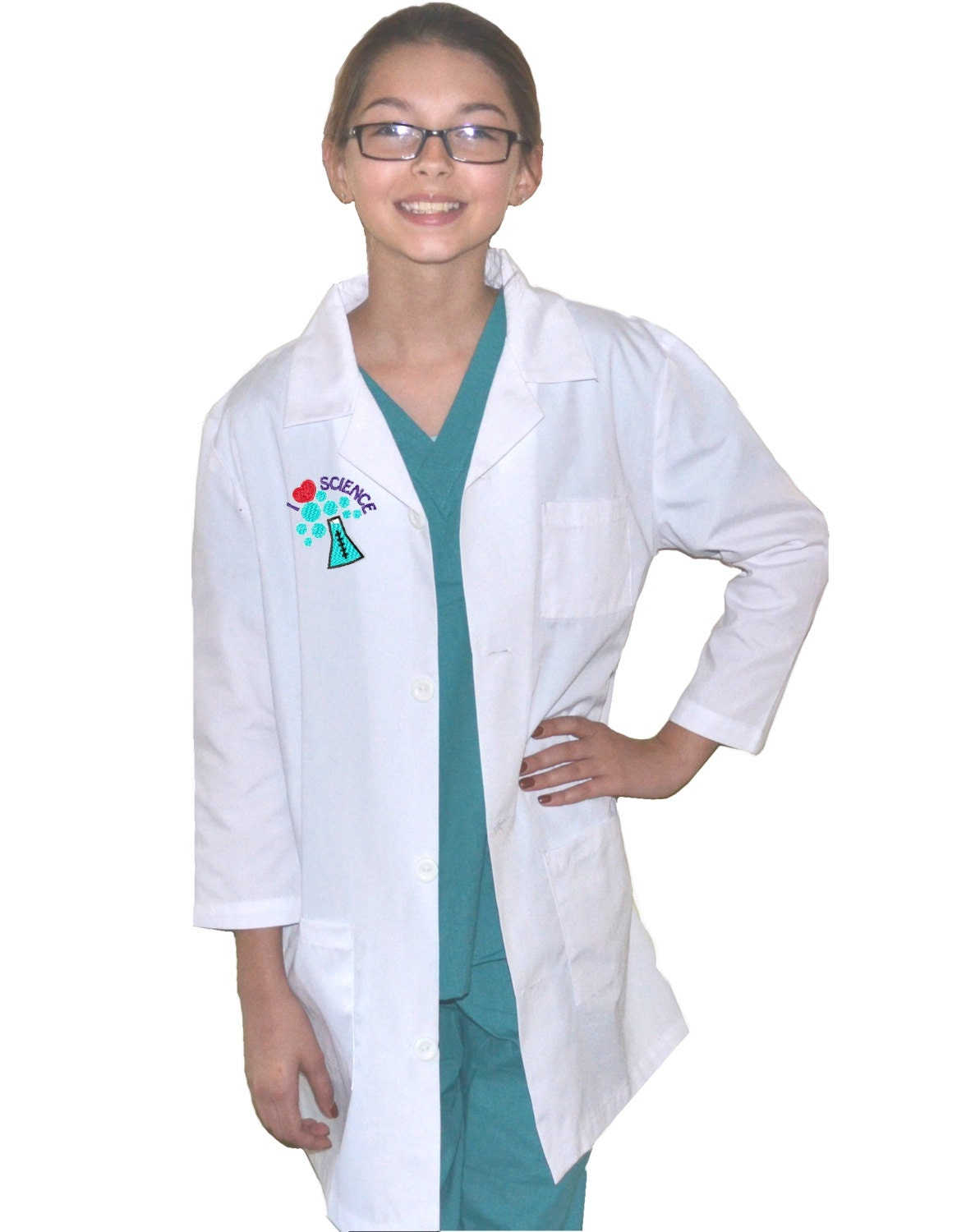 Kids Science Lab Coat by MyLittleDoc on Etsy