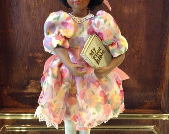 Collectible Avon Doll from the  'Childhood Dreams Porcelain Collection' - 'Sunday Best'