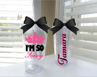 I'm so fancy tumbler
