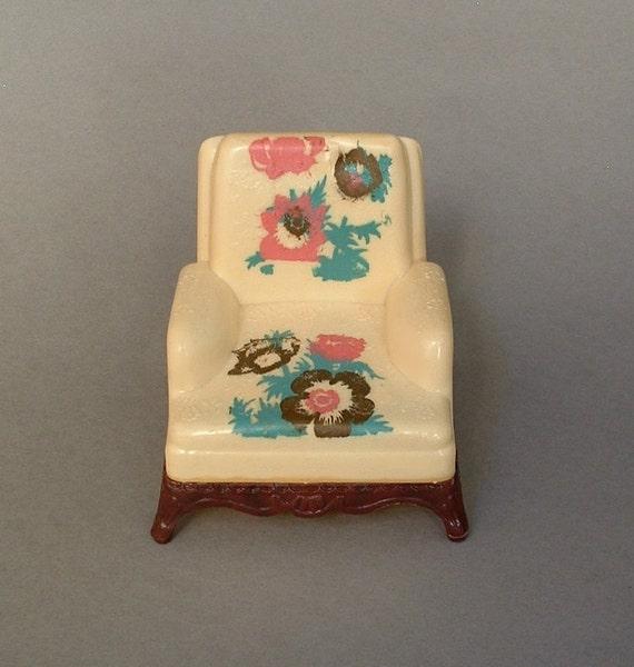 Renwal Vintage Dollhouse Furniture Doll House By Vintagedeptstore
