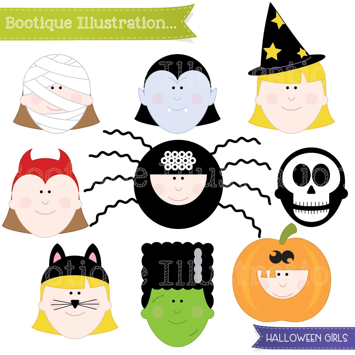 Three children trick-or-treating with a little alien - Buy this stock  vector and explore similar vectors at Adobe Stock   Adobe Stock